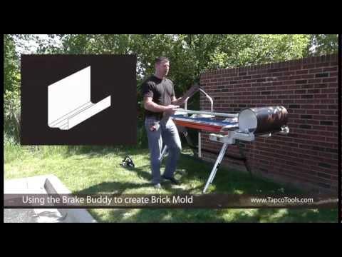 Bending Brick Mold Trim