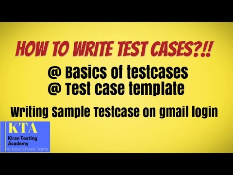 how to write a test case Writing test cases in agile 1 writing test cases in agile presented by: saroj singh 2 what is a test case ieee standard 610 (1990) defines test case as follows: a set of test inputs, execution conditions, and expected results developed for a particular objective, such as to exercise a particular program path or to verify compliance with a specific requirement.