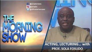 Prof. Sola Fosudo: Acting, Lecturing and Humanitarian Service