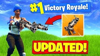 The NEW BUFFED SMG IS *BROKEN* In Fortnite Battle Royale!