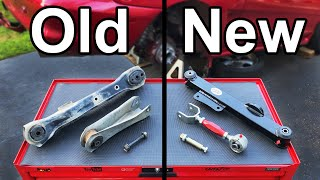 How to Replace Control Arms and Bushings to Fix a Bouncy Suspension