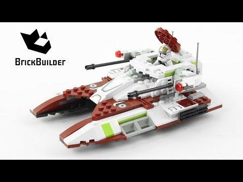 Lego Star Wars 75182 Republic Fighter Tank - Lego Speed Build