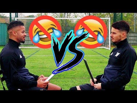 BILLY VS JEZZA | NO LAUGH CHALLENGE!