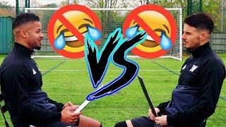 BILLY WINGROVE VS JEREMY LYNCH   NO LAUGH CHALLENGE!