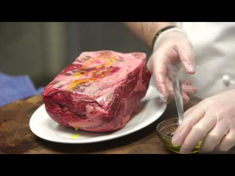 Just Cook It!: Slow Roasted Prime Rib with Creamy Horseradish (December 2013)
