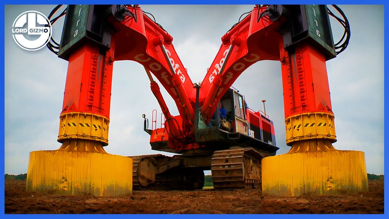 Most Powerful And Ingenious Machines That You Need To See