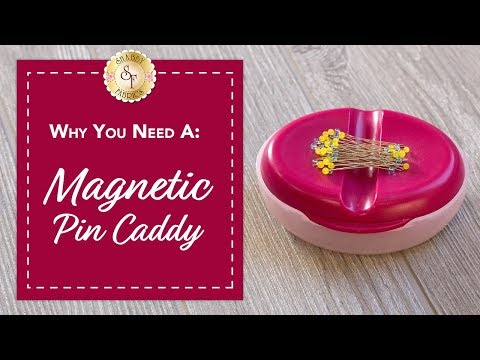Magnetic Pin Caddy | Shabby Fabrics