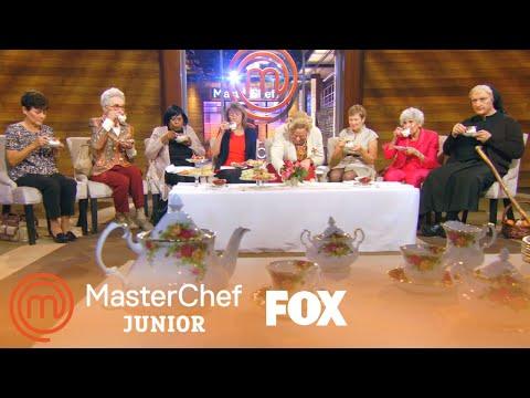 The Judges Have Tea Time | Season 6 Ep. 13 | MASTERCHEF JUNIOR
