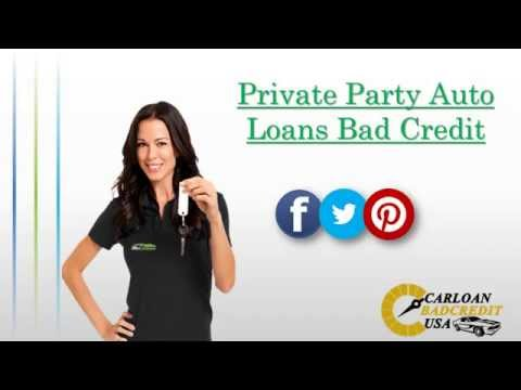 How To Get Car Loans for Private Party Purchase with Bad Credit - What is it and How Does it Work?