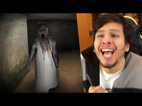 ENCONTRÉ EL ASILO DE GRANNY !! FINAL **Casi Muero** - Slendrina (Horror Game)