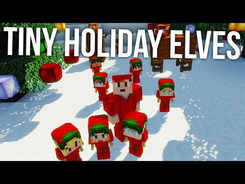How To Make Holiday Elves in Minecraft