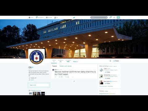 CIA Launches Twitter Account With Awesome First Tweet