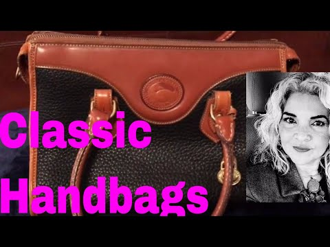 Vintage Dooney & Bourke Unboxing All Weather Leather Classic Handbags