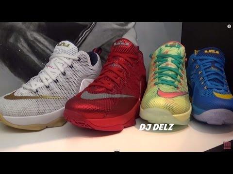 922864a7bd0 Nike Lebron 12 Low Entourage Sneaker Review +  Pickone VS Palmer VS USA VS  Reds
