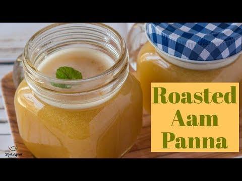 Aam ka panna recipe-Kairi Ka Panna in Hindi-Roasted Aam Panna-Kalimirchbysmita-Ep297