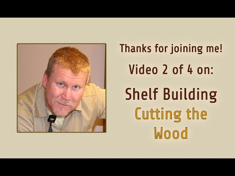 How to build Golf Course Shelves 2 of 4 - Mr. Done Right