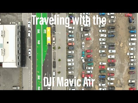 Travelling With The DJI Mavic Air