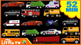 Street Vehicles | Car Wash Videos | Nursery Rhymes Plus Lots More | My Little TV