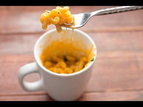 Microwave Mug Mac and Cheese