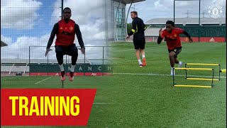 Training | Manchester United stars train at the Aon Training Complex