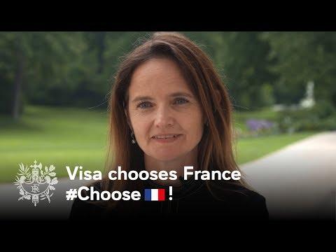 Visa chooses France | Emmanuel Macron