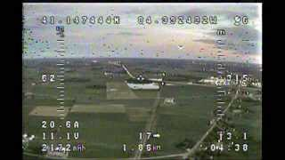 First fixed wing FPV flight..