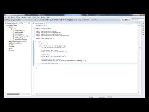 How to get all links text in a page using Selenium WebDriver