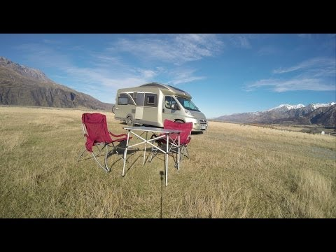 New Zealand South Island on Campervan