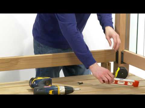 How to Install a Rail Simple Clearview Deck Railing Kit