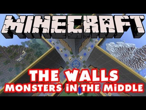 Minecraft - The Walls - Monsters in the Middle