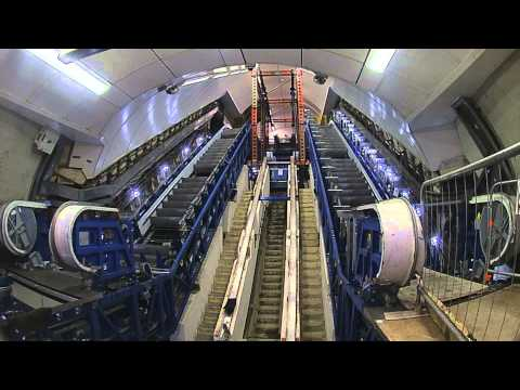 Lifts and Escalators - From the Underground Up - Tube improvements