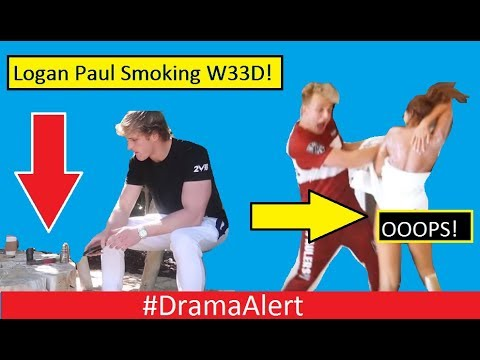 Logan Paul CAUGHT SMOKING W33D! #DramaAlert Erika Costell Shows SNAKE TAIL! KSI vs Alex Wassabi