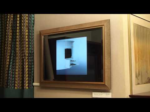 Seura Mirror TV With Frame and Bevel