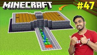 I MADE EASIEST CREEPER FARM | MINECRAFT GAMEPLAY #47