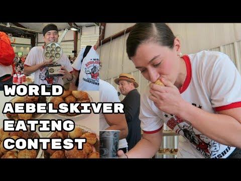 World Aebelskiver Eating Contest ft.  Matt Stonie