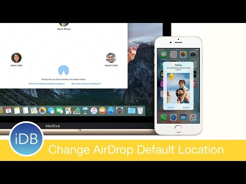 How-To: Change the Default AirDrop Destination on Mac