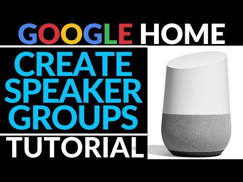How To Play Music On Multiple Google Homes - Google Home Tutorial