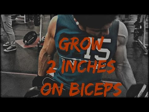 GAIN 2 INCHES ON ARM IN 2 MONTHS