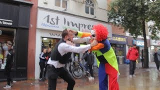 IT Clown Pennywise Vs Police Officer PC Bacon