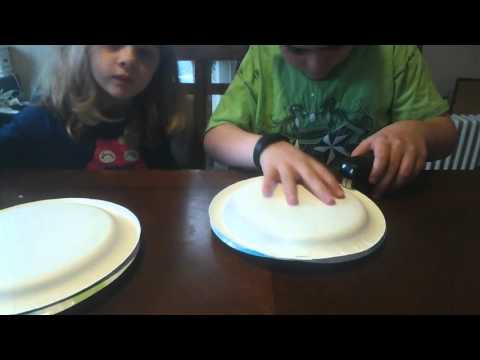 How to Make a Homemade Paper Plate Tambourine