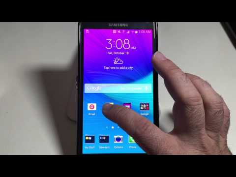 Samsung Galaxy Note 4 Tip: How to organize icons
