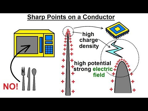 Physics - E&M: Ch 38.1 Voltage Potential Understood (21 of 24) Sharp Points on a Conductor