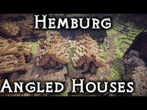 Minecraft: Hemburg - Ep22 Angled Houses (Live Stream)