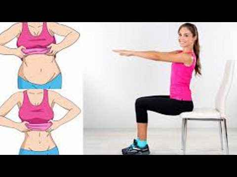 Chair Exercises That Will Reduce Your Belly Fat While You Sit!