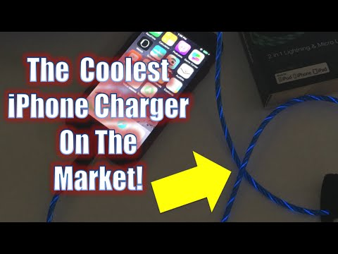 This iPhone Charging Cable Has Got To Be The Coolest Out There!