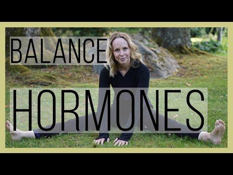 Yoga Pose to Balance Your Hormones