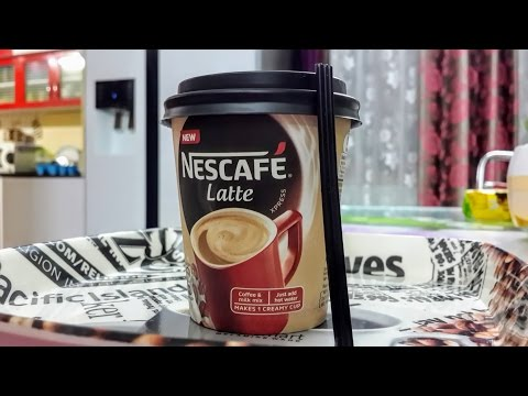 HOW TO MAKE NEW NESCAFE LATTE | INSTANT| HINDI