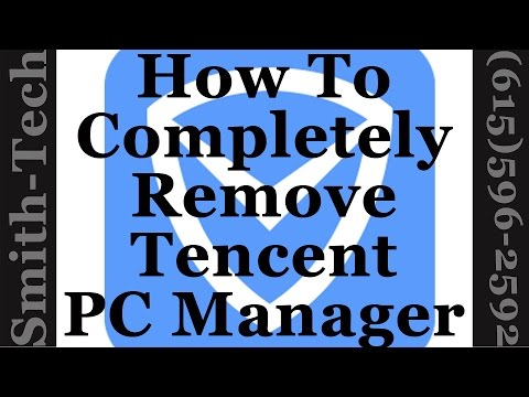 How To Manually Uninstall Tencent PCMgr When Other Techniques Fail