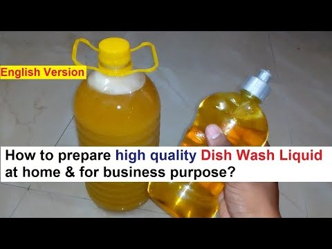 Dish Wash Liquid Making Formula - Quick & Easy Steps