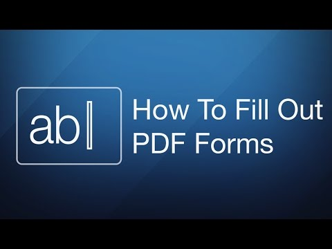How To Fill Out a PDF Form on Mac